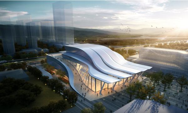 公司12.95亿元中标丝绸之路风情城二期项目南区主体建安工程
