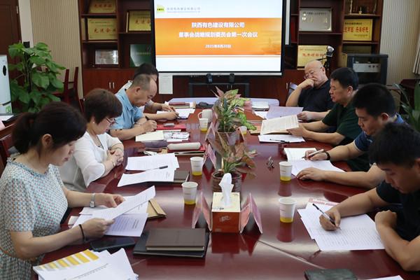 公司召开董事会战略规划委员会第一次会议