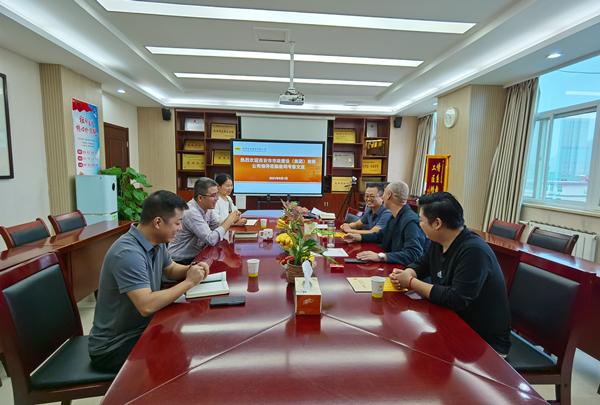 公司接待西安市市政建设(集团)有限公司副总经理郝忙利一行来访考察